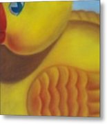 Rubber Ducky Metal Print