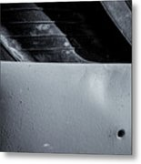 Rubber Tire Division Metal Print
