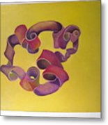 Rubberband Number One Metal Print
