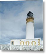Rubha Reidh Lighthouse Metal Print