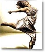 Rubinesque Dancer Metal Print