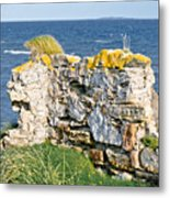 Ruby Bay. Leftovers Of The Wall. Metal Print