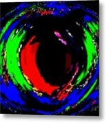 Ruby Eye Metal Print