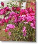 Ruby Like Flora Metal Print