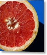 Ruby Red Grapefruit Metal Print