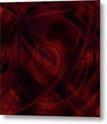 Ruby Red Veil Metal Print