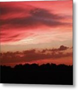 Ruby Sunset Metal Print