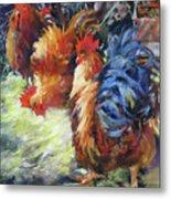 Ruffled Feathers Metal Print