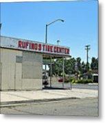 Rufino's Tire Center Metal Print