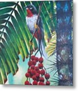 Rufous-throated Solitaire Metal Print