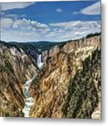 Rugged Lower Yellowstone Metal Print