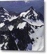 Rugged Mountain Peaks Metal Print