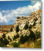 Rugged New Mexico Metal Print