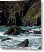 Rugged South Coast Metal Print