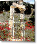 Ruin At Ephesas Metal Print