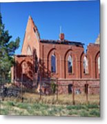 Ruined Church In Rural Utah Metal Print