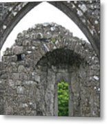 Ruins Of A 9th Century Monastery In Ireland Metal Print