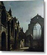 Ruins Of Holyrood Chapel Metal Print