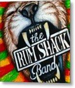 Rum Shack Roaring Lion Metal Print