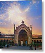 Rumi Gate Metal Print