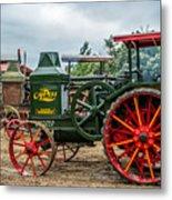 Rumley Oil Pull Tractor Metal Print