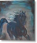 Run Horse Run Metal Print