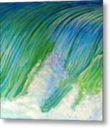 Run To The Sea Metal Print