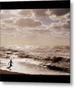 Run, You Are Free Metal Print