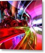 Runaway Color Abstract Metal Print by Alexander Butler