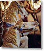 Runaway Horses Metal Print