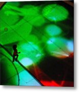 Running On Colours Metal Print