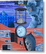 Running Out Of Time Metal Print