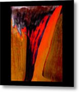 Running Red Metal Print