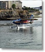 Runway On Water Metal Print