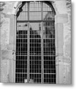 Ruprechtsbau Window B W Metal Print