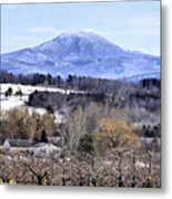 Rural Beauty Vermont Style Metal Print