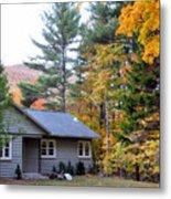 Rural Colorful Autumn Landscape 3 Metal Print