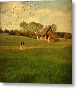Rural Cottage Metal Print by Jill Battaglia