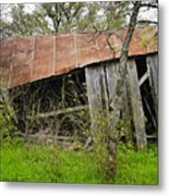 Rural Decay Metal Print