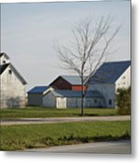 Rural Farm Central Il Metal Print