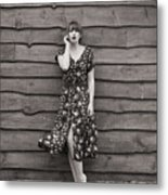 Rural Fashion Metal Print
