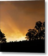 Rural Glory Metal Print