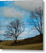 Rural Landscape - Skyline Drive Metal Print