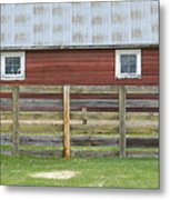 Rural Patterns Metal Print