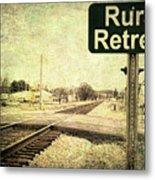 Rural Retreat Metal Print