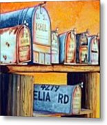 Rural Route Metal Print