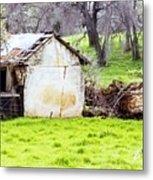 Rural Ruin Metal Print