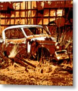 Rural Rust Metal Print