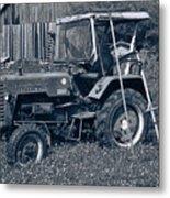 Rural Vehicle Metal Print