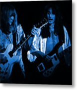 Rush 77 #46 Enhanced In Blue Metal Print